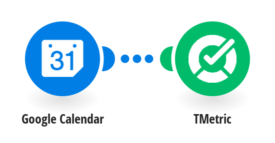Create TMetric time entries from Google Calender events