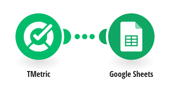 Add Google Sheets rows from completed TMetric tasks