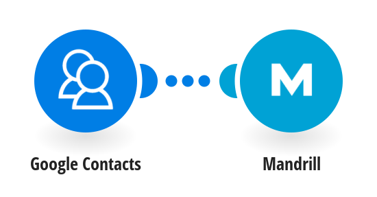 Send Mandrill emails to new Google Contacts