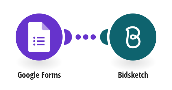 Create a Bidsketch template from new Google Forms responses