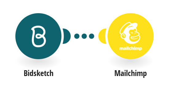 Add Mailchimp subscribers from new Bidsketch clients