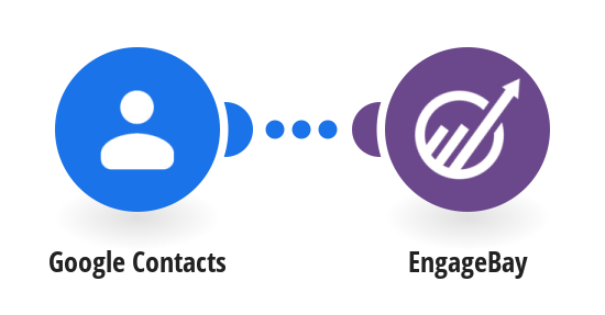 Send new Google Contacts to EngageBay