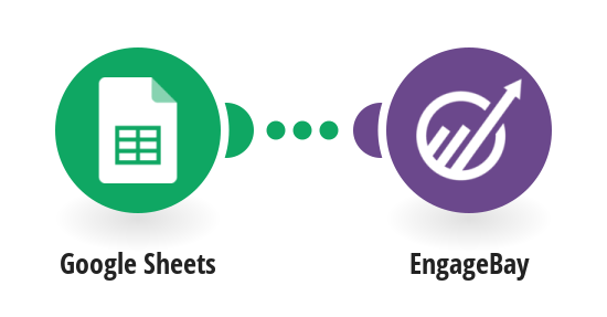 Send new Google Sheets contacts to EngageBay