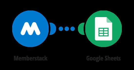 Import Memberstack members to Google Sheets spreadsheet