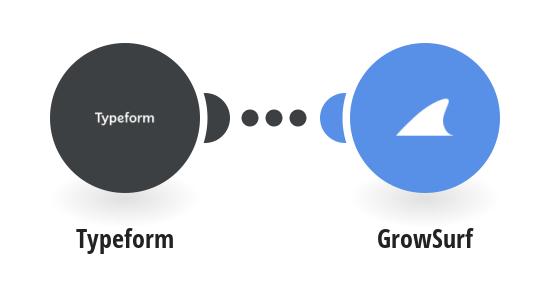 Create GrowSurf participants from new Typeform responses