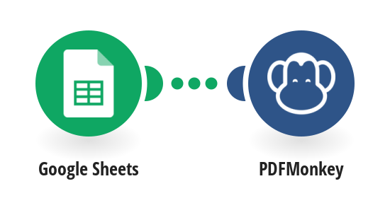 Generate PDFMonkey documents from Google Sheets rows