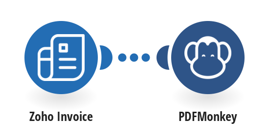 Generate PDFMonkey documents from Zoho invoices