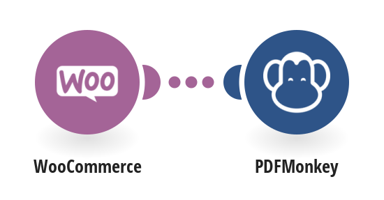 Generate PDFMonkey documents from WooCommerce orders