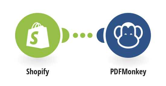 Generate PDFMonkey documents from Shopify orders