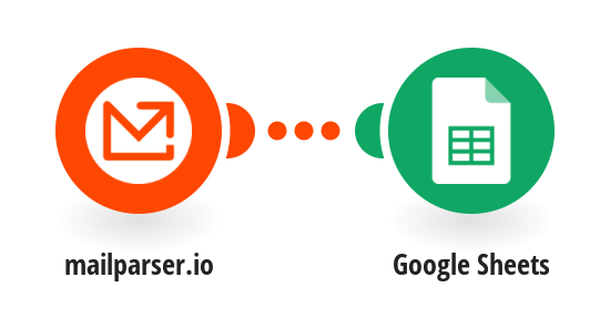 Add Google Sheets rows for new Mailparser.io emails