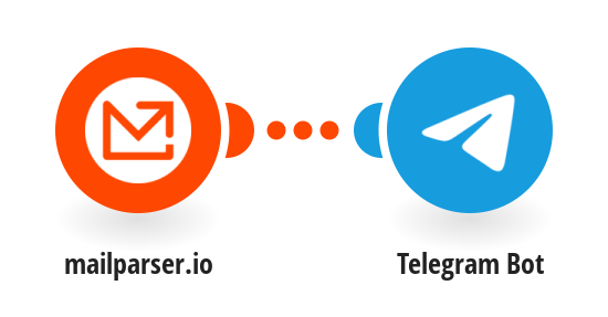 Send a Telegram message for new Mailparser.io emails