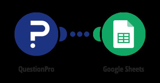 Export QuestionPro survey responses to Google Sheets