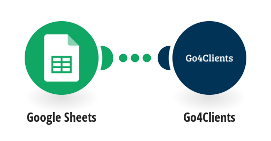 Send a Go4Clients SMS message for new rows in a Google Sheets spreadsheet.