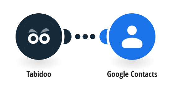 Create Google Contacts from new Tabidoo records
