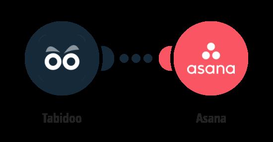Create Asana tasks from new Tabidoo records