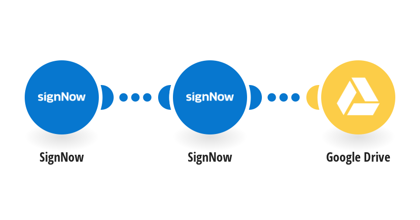Upload SignNow documents to Google Drive
