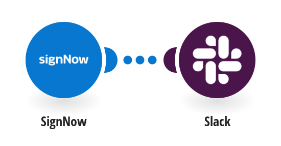 Send Slack messages for new SignNow events