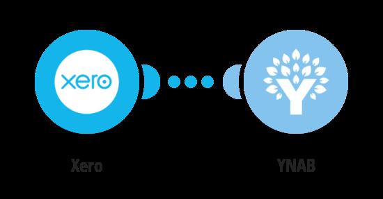Create YNAB transactions from Xero invoices