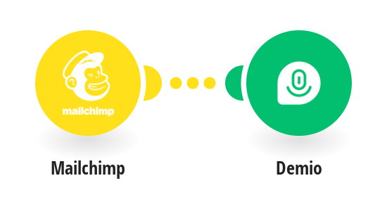 Create registration for an event in Demio from Mailchimp subscribers