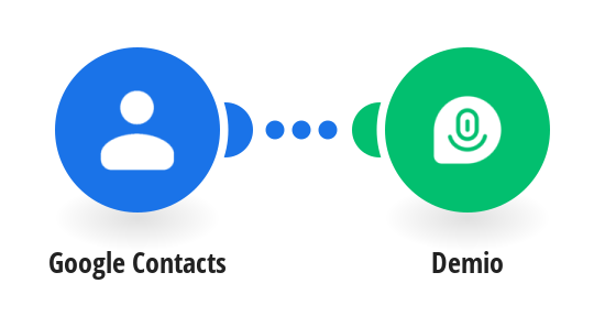 Create Demio registration for an event from Google Contacts