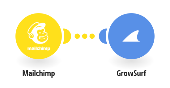 Create GrowSurf subscribers from Mailchimp subscribers