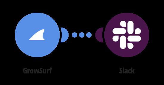 Send Slack messages when GrowSurf campaign ends