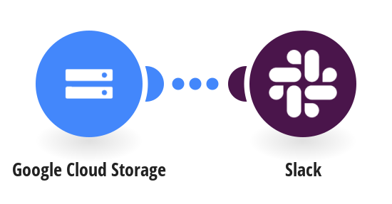Send Slack messages for new Google Cloud Storage objects