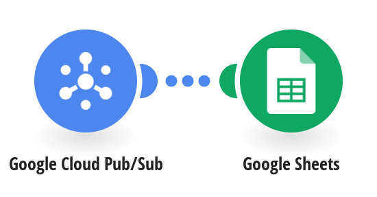 Save new Google Cloud Pub/Sub messages in Google Sheets