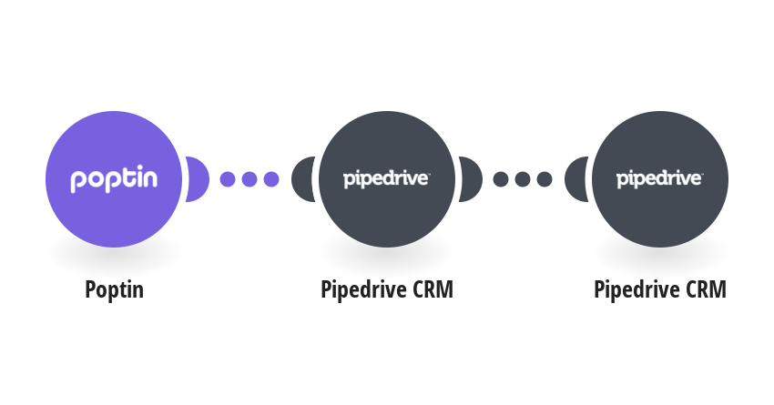 Create Pipedrive persons from Poptin leads