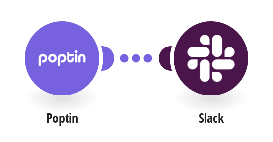 Send notifications in Slack for Poptin new leads