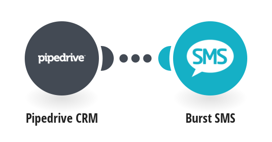 Create Burst SMS contacts from Pipedrive CRM persons