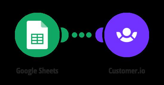 Create Customer.io customers from Google Sheets rows