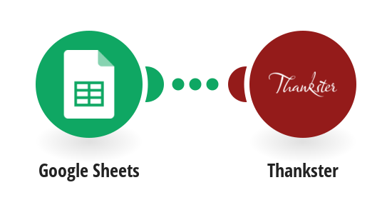 Create a Thankster card when row is added to Google Sheet spreadsheet