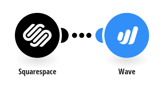 Create Wave transactions for new Squarespace orders