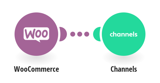 Create Channels contacts from WooCommerce customers