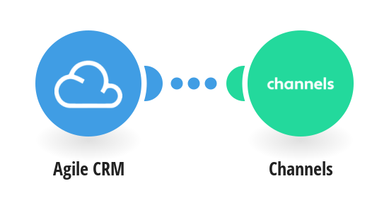 Create Channels contacts from Agile CRM contacts