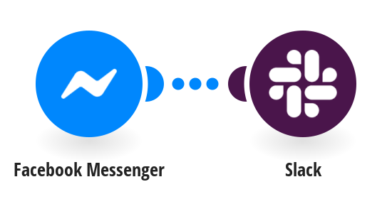 Send a Slack notification when a new message is received in Facebook Messenger