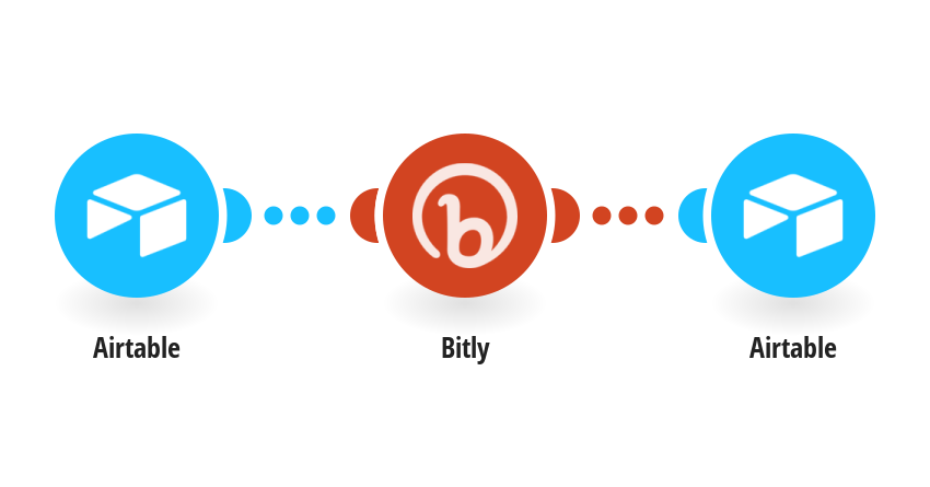 Shorten a URL using Bitly and add it to a record in Airtable