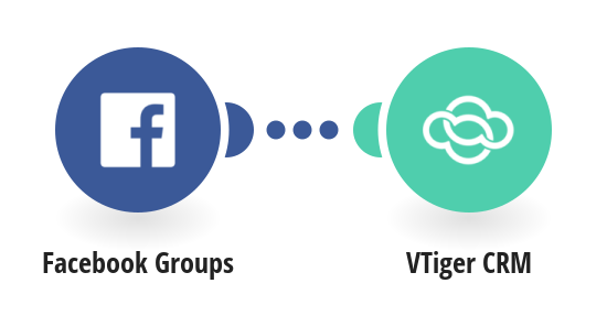 Create VTiger CRM posts from new Facebook Groups posts
