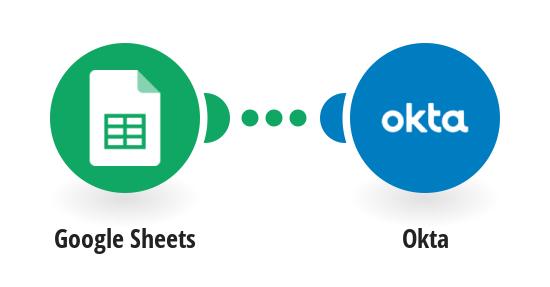 Create Okta accounts from new Google Sheets rows