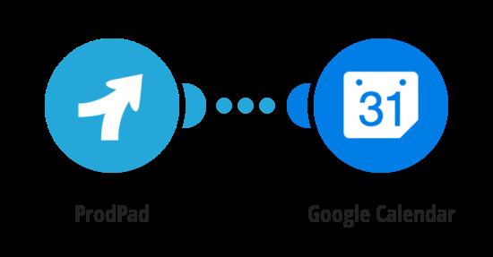 Create Google Calendar events from new ProdPad ideas