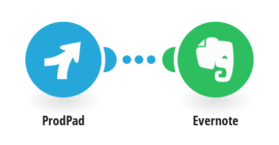 Create Evernote notes from new ProdPad ideas