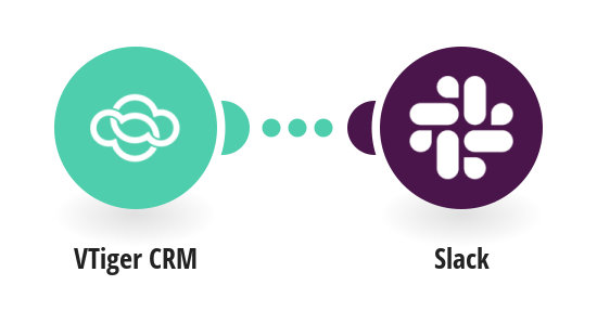 Send Slack messages for new VTiger CRM projects