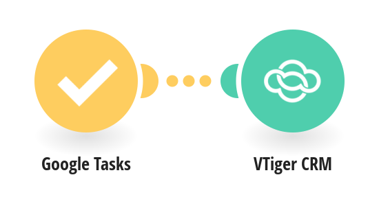 Create VTiger CRM tasks from new Google Tasks tasks
