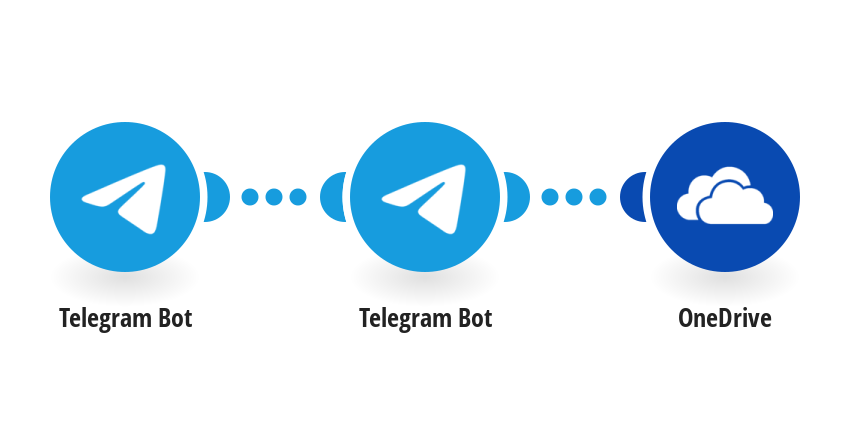 Save photos from new messages in Telegram to Onedrive