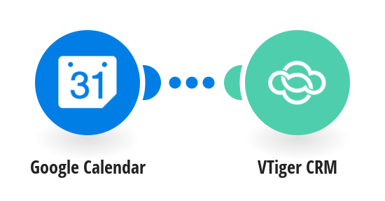 Create VTiger CRM events from new Google Calendar events