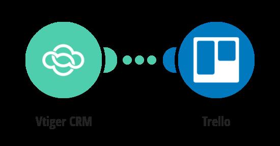 Vytvoření karty v Trellu z nového produktu ve VTigeru CRM