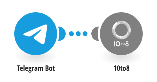 Book a 10to8 appointment from a Telegram message