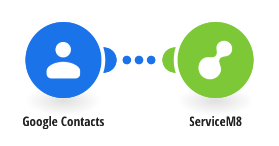 Create ServiceM8 clients from Google Contacts