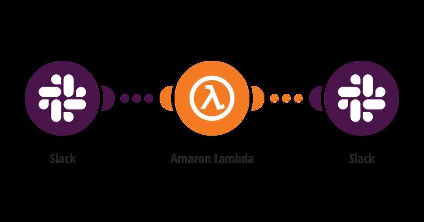 Invoke Amazon Lambda function for new Slack message